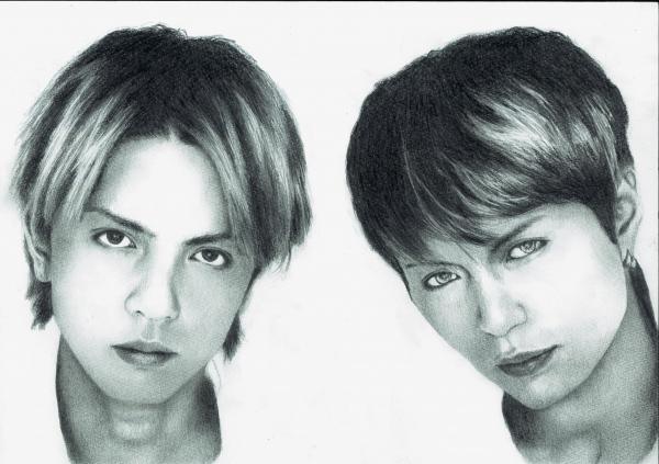Hyde, Gackt Camui by taro